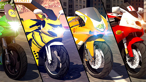 Bike racing rider screenshot 1