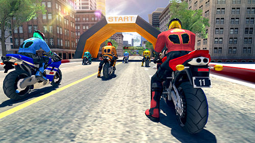 Bike racing rider screenshot 2