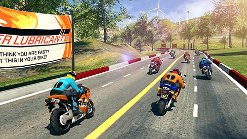 Bike racing rider screenshot 3