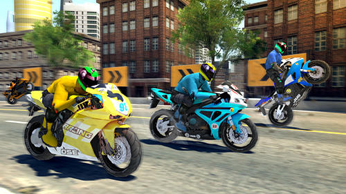 Bike racing rider screenshot 5
