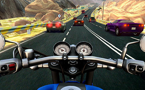 Bike rider mobile: Moto race and highway traffic скриншот 5