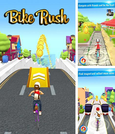 In addition to the game Snowman run for Android phones and tablets, you can also download Bike rush for free.