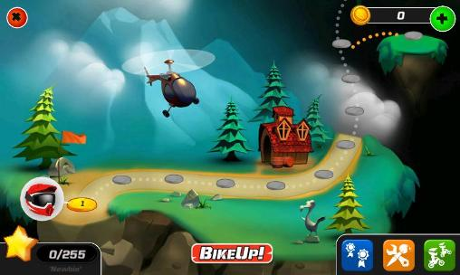 Kostenloses Android-Game Bike Up!. Vollversion der Android-apk-App Hirschjäger: Die Bike up! für Tablets und Telefone.