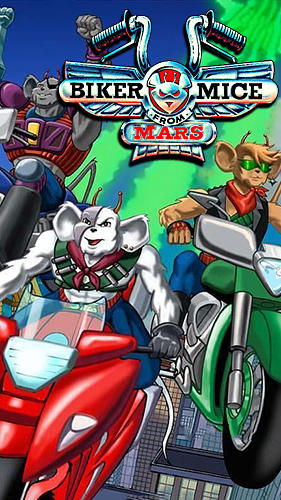 Biker mice from Mars poster