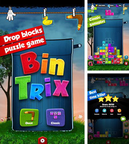 In addition to the game Student riot: Drunk class for Android phones and tablets, you can also download Bin trix for free.