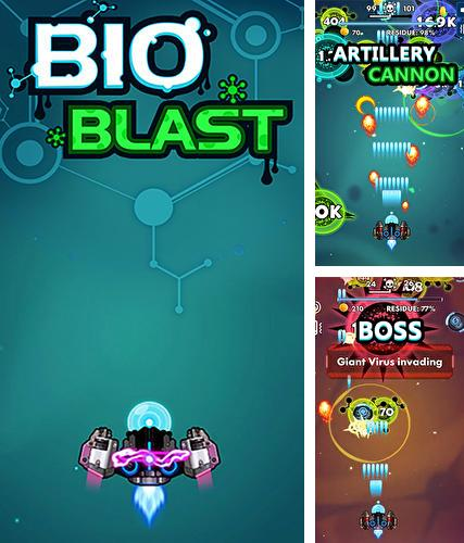 Bio blast. Infinity battle: Fire virus!