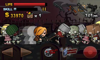 Screenshots do Biofrenzy: Frag The Zombies - Perigoso para tablet e celular Android.