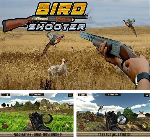 In addition to the game Jurassic shooter 3D for Android phones and tablets, you can also download Bird shooter: Hunting season 2015 for free.