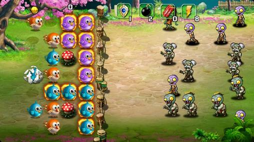 Birds vs zombies 2 screenshot 2