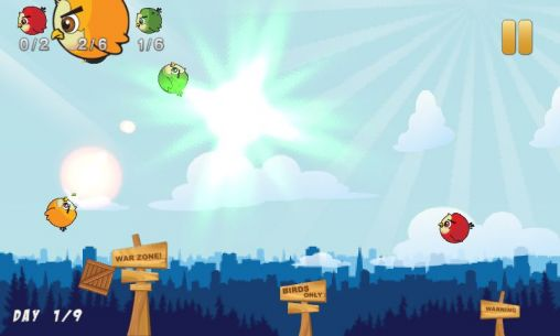 Birds war screenshot 1