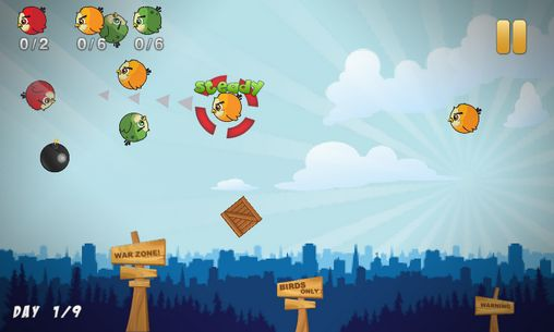 Birds war screenshot 2
