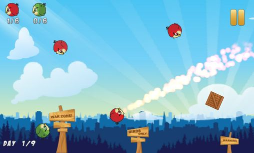 Birds war screenshot 3