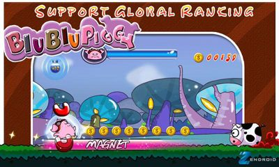 Screenshots of the BiuBiuPiggy for Android tablet, phone.