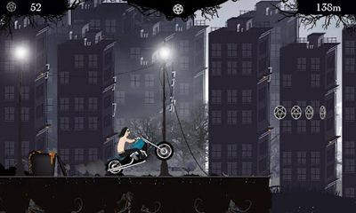 Screenshots of the Black Metal Man for Android tablet, phone.