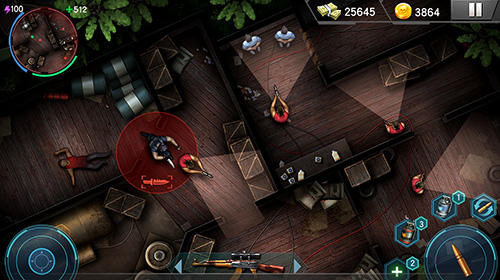 Kostenloses Android-Game Black SWAT Außenposten: Counter Strike. Vollversion der Android-apk-App Hirschjäger: Die Black SWAT outpost: Counter strike terrorists für Tablets und Telefone.