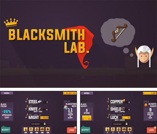 In addition to the game Lottery rain. Lottery rich man for Android phones and tablets, you can also download Blacksmith lab. Idle for free.
