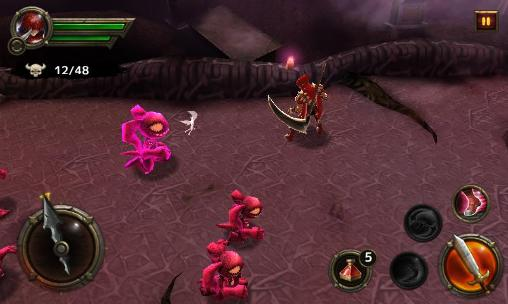 Screenshots von Blade warrior für Android-Tablet, Smartphone.