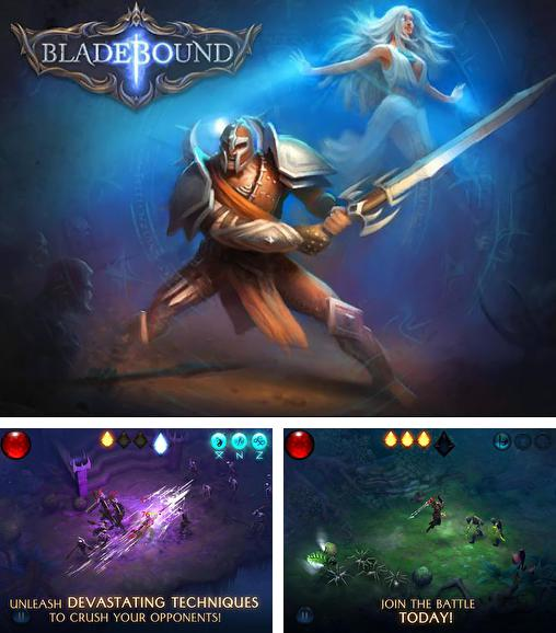 In addition to the game Glory warrior: Lord of darkness for Android phones and tablets, you can also download Bladebound for free.