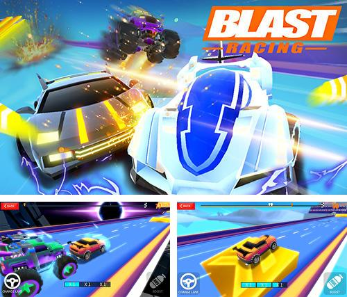 In addition to the game Door slammers 2: Drag racing for Android phones and tablets, you can also download Blast racing for free.