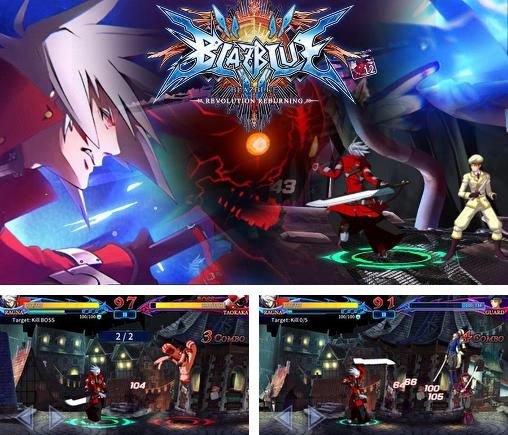 Blazblue: Revolution reburning. Fighting