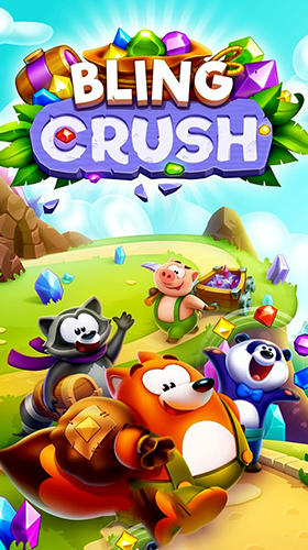 Bling crush: Match 3 puzzle game