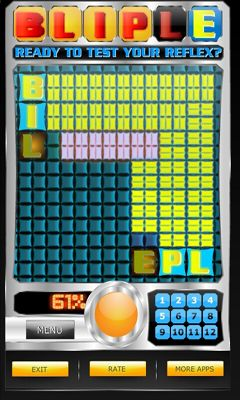 Download BLIPLE - Test Your Reflex! Android free game.