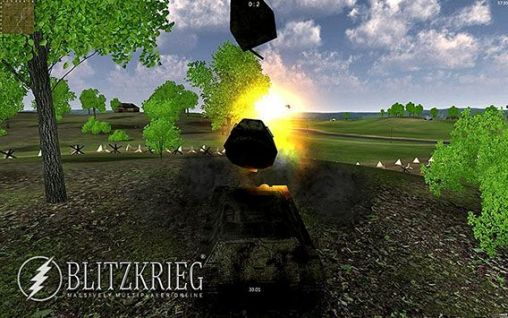 Screenshots von Blitzkrieg MMO: Tank battles (Armored aces) für Android-Tablet, Smartphone.