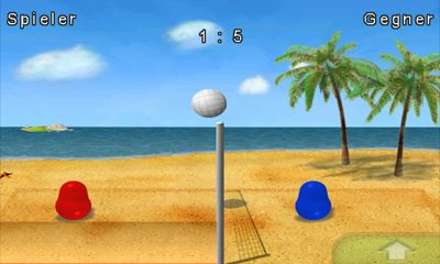 Blobby Volleyball screenshot 2