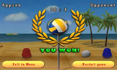Blobby Volleyball screenshot 3