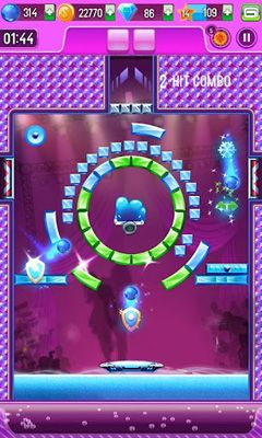 Screenshots do Block breaker 3 unlimited - Perigoso para tablet e celular Android.