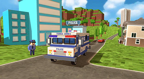Block city police patrol