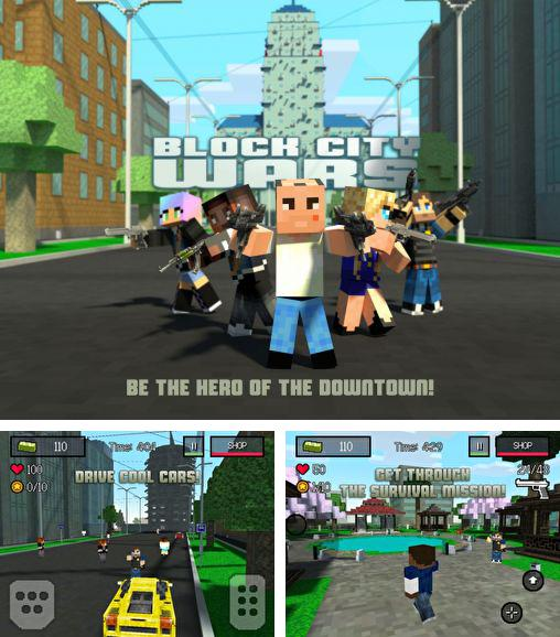 Zusätzlich zum Spiel Block Ops 2 für Android-Telefone und Tablets können Sie auch kostenlos Block City wars: Mine mini shooter, Block City Wars: Mein Mini-Shooter herunterladen.