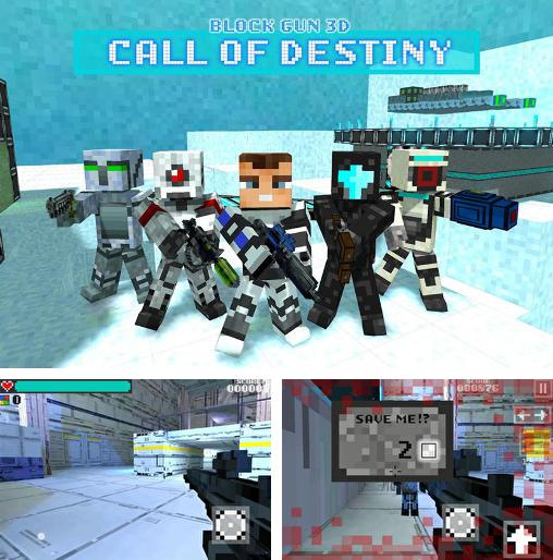 In addition to the game Pixel combat multiplayer HD for Android phones and tablets, you can also download Block gun 3D: Call of destiny for free.