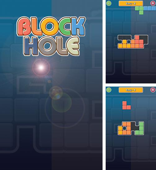 In addition to the game Jengris puzzle 3D for Android phones and tablets, you can also download Block hole for free.