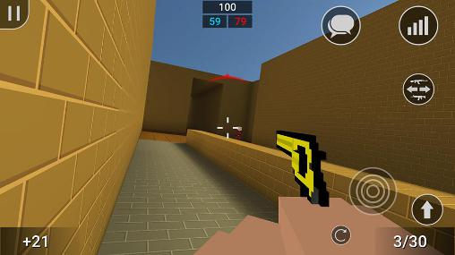 Screenshots von Block strike für Android-Tablet, Smartphone.