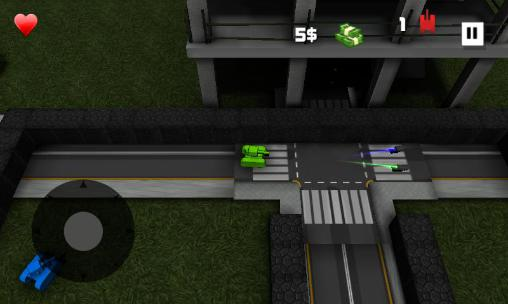 Screenshots von Block tank wars für Android-Tablet, Smartphone.