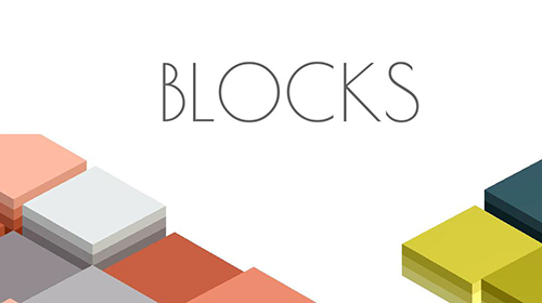 Blocks: Strategy board game poster