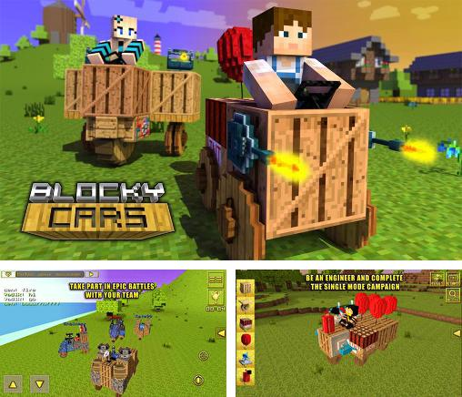 In addition to the game Guncrafter for Android phones and tablets, you can also download Blocky cars v2.7.2 for free.