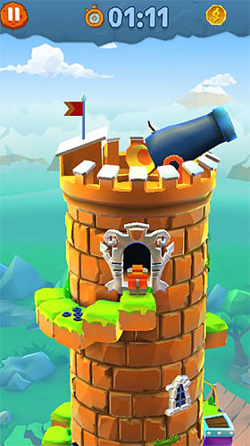 Screenshots von Blocky castle für Android-Tablet, Smartphone.
