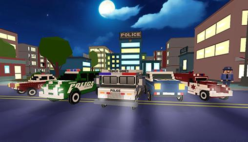 Screenshots von Police vs zombies 3D für Android-Tablet, Smartphone.