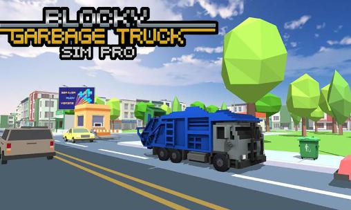 Blocky garbage truck sim pro for Android - Download APK free