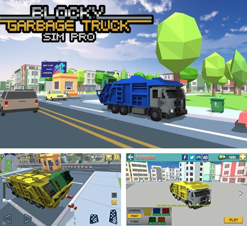 In addition to the game Big truck hero: Truck driver for Android phones and tablets, you can also download Blocky garbage truck sim pro for free.