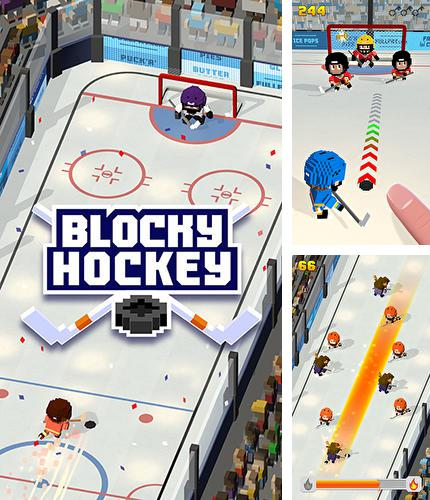 En plus du jeu Ailes  pour téléphones et tablettes Android, vous pouvez aussi télécharger gratuitement Hockey de blocs: Course sur la glace, Blocky hockey: Ice runner.