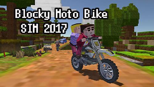 Descargar Blocky Moto Bike Sim 2017 Para Android Gratis El Juego