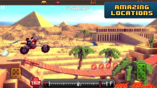 Jogue Blocky roads para Android. Jogo Blocky roads para download gratuito.