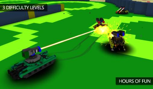Blocky war machines screenshot 1