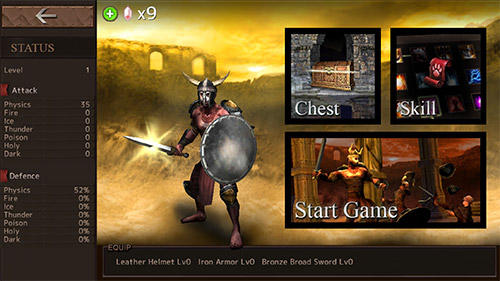 Screenshots von Blood arena für Android-Tablet, Smartphone.
