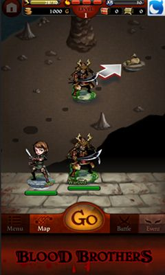 Screenshots do Blood Brothers - Perigoso para tablet e celular Android.