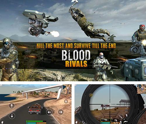 Blood rivals: Survival battleground FPS shooter