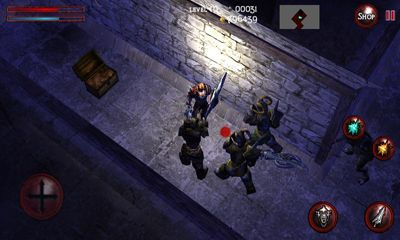 Screenshots of the Bloody Dungeons for Android tablet, phone.